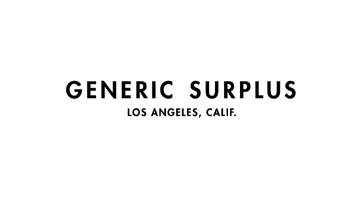 GENERIC SURPLUS