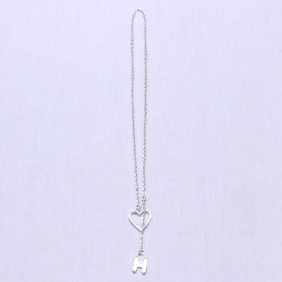 �yHR N1 H THROUGH NECKLACE�z�@700015808*123