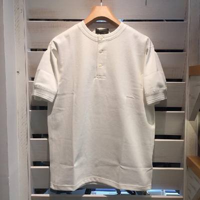 【40's WORK HENLEY NECK SHORT SLEEVE】 80380021001*307画像1