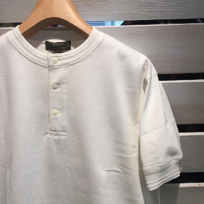 【40's WORK HENLEY NECK SHORT SLEEVE】 80380021001*307画像2