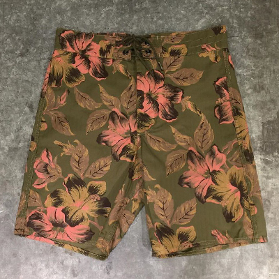 【HAWAIIAN SHORT】 MNRRSHO14G10018*307