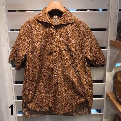 【Italian Collor Summer Shirt】 KS9SSH09*307