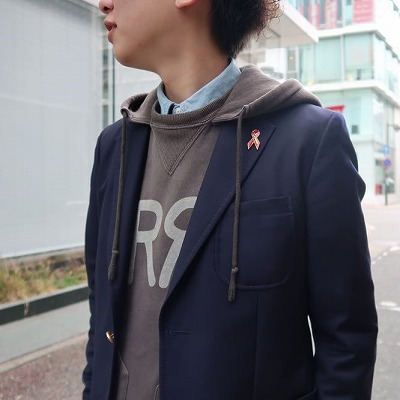 【BAYBROOK EXCLUSIVE NAVY BLAZER】*201画像4