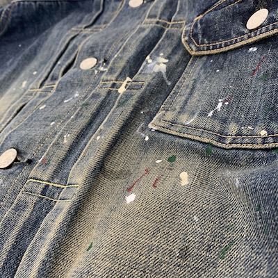 【USED 1st TYPE NO COLLAR DENIM JACKET】CL-20SS031*121画像7