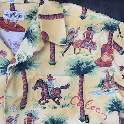 【ALLOVER WESTERN PATTERN S/S SHIRT】CL-20SS071*121画像4