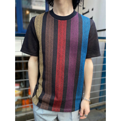 【KNIT ART T-SHIRT】WK20S-PO07M*305画像2