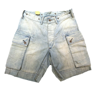 【DENIM CARGO SHORTS】 MNRRSHO14A10010*307