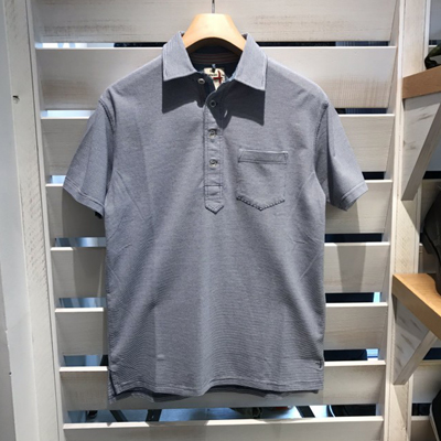 【BTTN STRIPE POLO】 M400904*307
