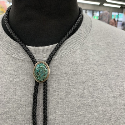 【TURQUOISE BOLO TIE】CL-17SS031ACSIF*121