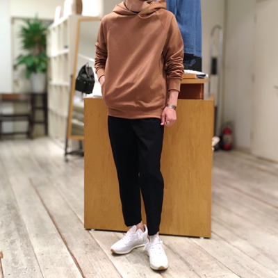 Pull Over Hoody【TENCEL SOFT CARDBOARD DT202M】*106画像7