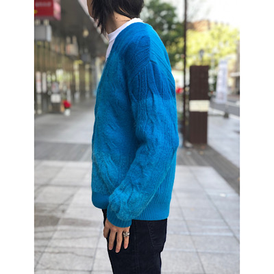 【ANIMAL GRADATION CARDIGAN】20-204-029*101画像2