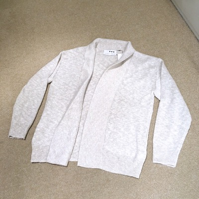 【 linen cotton shawl collar cardigan】CT701*106画像6