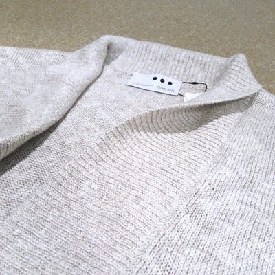 【 linen cotton shawl collar cardigan】CT701*106画像7