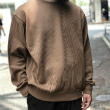 【Cotton Wide-wale Crew-neck P/O】