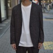 【RM202-004 MIX TWEED NO COLLAR JACKET】*117